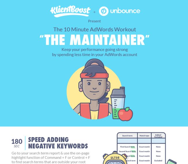 "10 Minute AdWords Workout ""The Maintainer"""