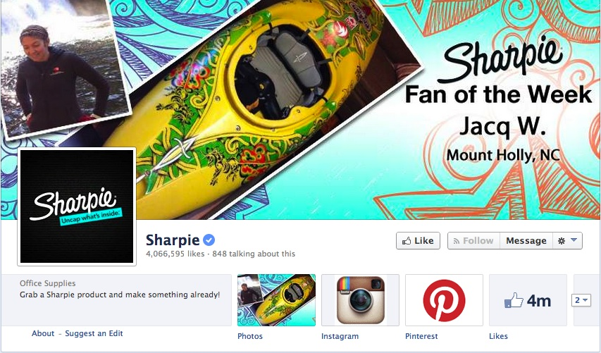 Sharpie's Facebook