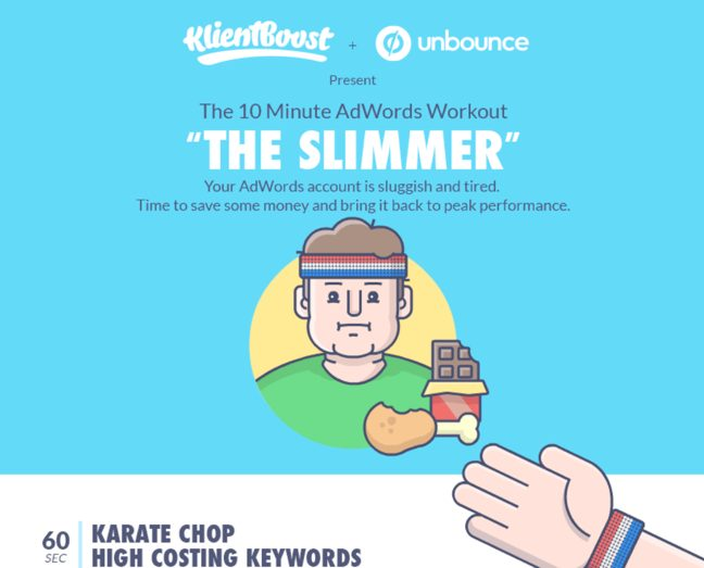 "10 Minute AdWords Workout ""The Slimmer"""