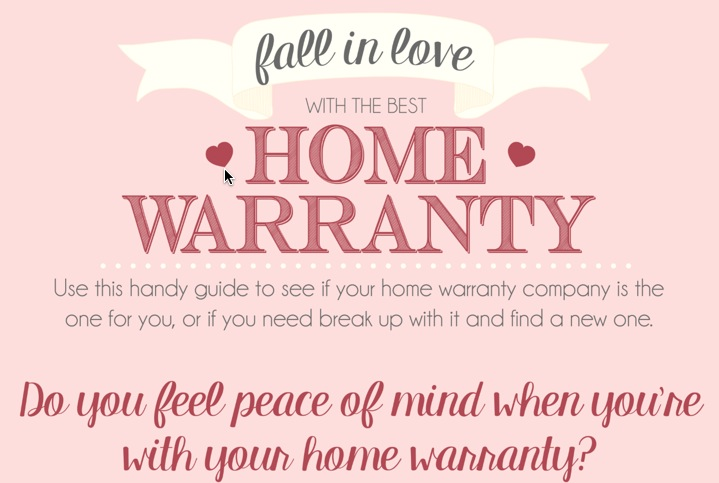 Fall in love with the best home warranty.
