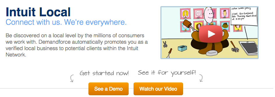 Intuit Local is a directory for local service businesses.