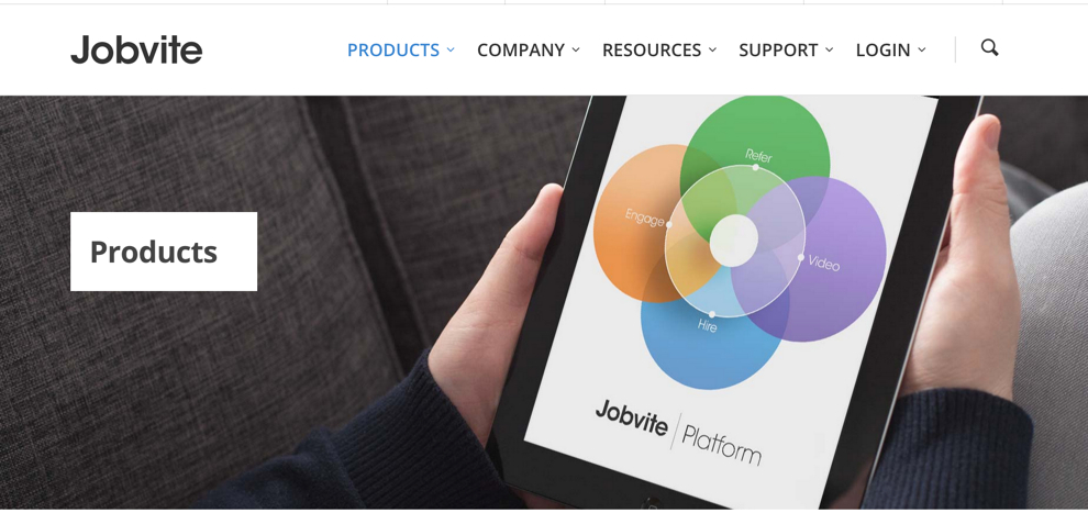 Mobile-friendly platform for recruiting talent.