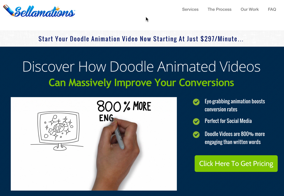 Sellamations create animated whiteboard drawings.
