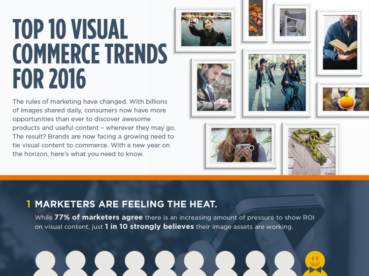 Top 10 visual content marketing trends for 2016.
